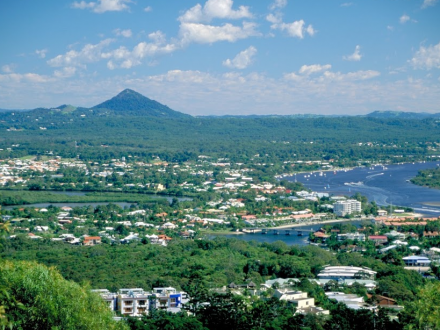 Noosa from lookout